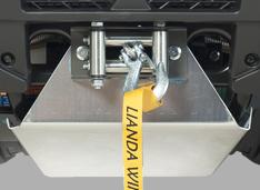 Лебедка 3000 lbs с алюминиевой защитой снизу