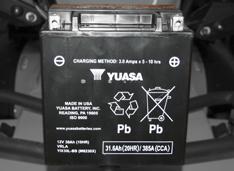 Аккумулятор повышенной емкости (30 Ач, YUASA – США)