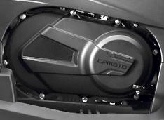 Канадский вариатор CVTech c механизмом торможения двигателем