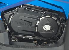 Новый двухцилиндровый V-образный двигатель
