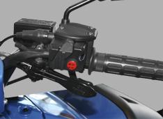 Парковочный тормоз на рукоятке руля