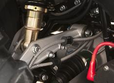 Алюминиевые рычаги подвески уменьшают неподрессоренную массу