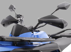 Руль измененной формы, обеспечивающий комфортную езду стоя