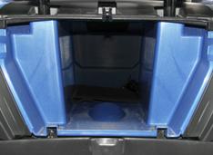Вместительное багажное отделение в задней части квадроцикла