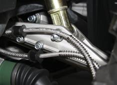 Алюминиевые верхние рычаги подвески, уменьшающие неподрессорную массу