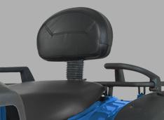 Обновленная спинка пассажира с ручками