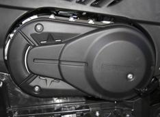 Пластиковая термозащитная накладка крышки вариатора