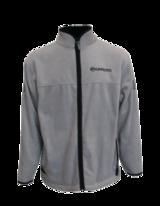 Куртка флисовая мужская с карманами на молнии