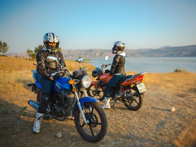 Делайте перерывы при езде на мотоцикле колонной