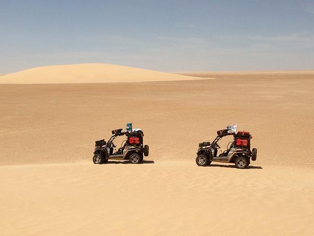 Сахара: всё позади!