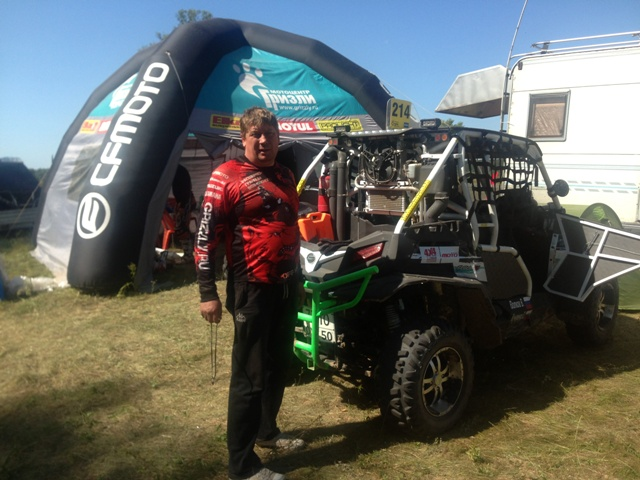 "Команда ""Grizzly Club"" на Can-Am Trophy 2015"