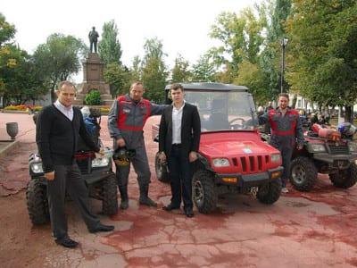 Фото с пробега Алма-Ата - Санкт-Петербург (Уфа-Самара, 21.09-23.09)