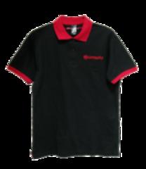 Рубашка-поло мужская черная от CFMOTO