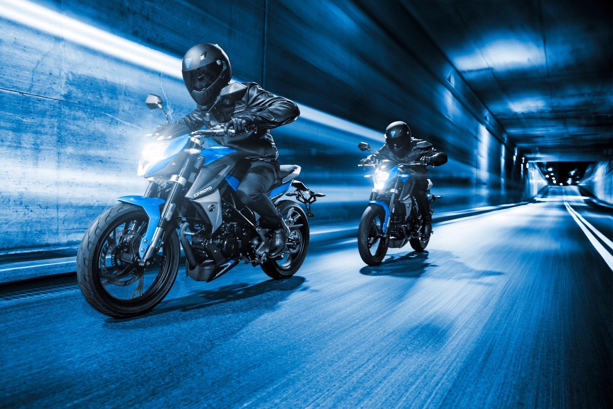 Правила езды на мотоцикле группой