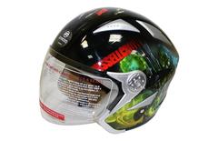 Открытый шлем V529 с аэрографией от CFMOTO