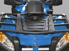 Передняя и задняя грузовые площадки