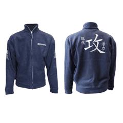 Куртка флисовая синяя мужская на молнии от CFMOTO