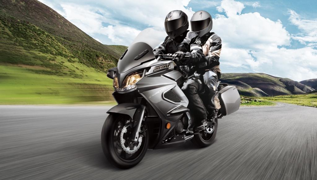 Путешествие на мотоцикле CFMOTO 650 TK ABS