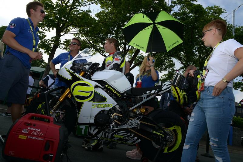 #7 Gary Johnson CF Moto / WK Bikes
