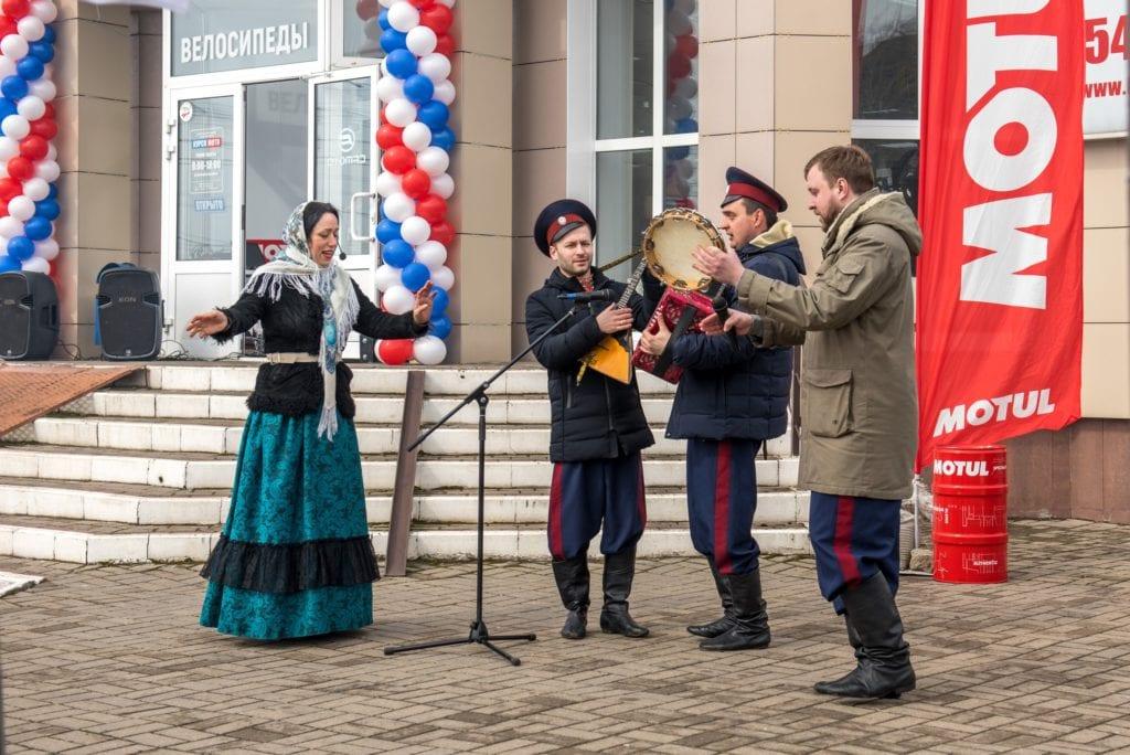 Курск торжественно встретил новинку CFMOTO X8 H.О. EPS!