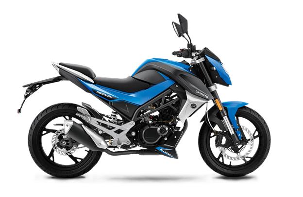 Синий мотоцикл CFMOTO
