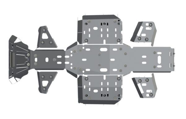 Комплект защиты днища для CFMOTO X8