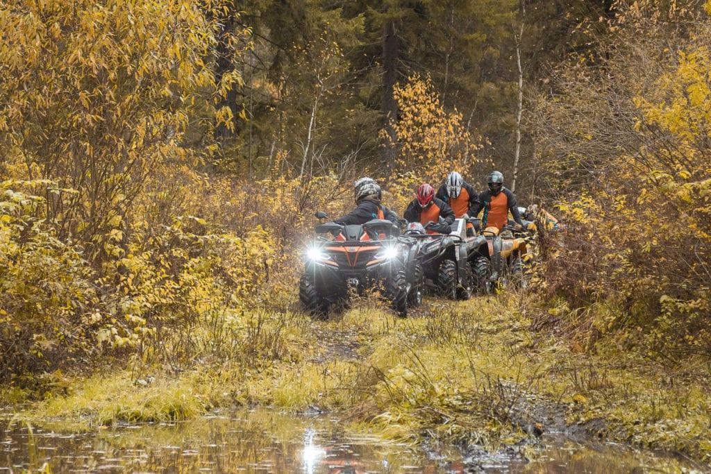 Осенняя экспедиция к «Манской петле»