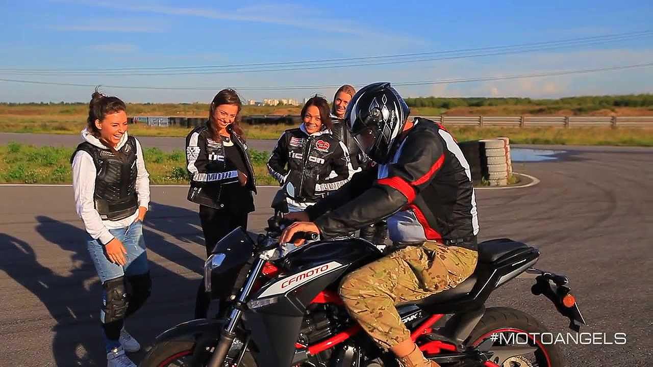 получение прав на мотоцикл
