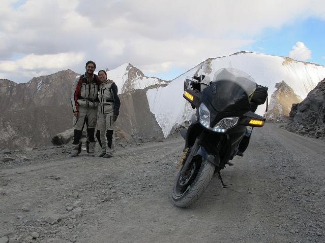 Рекорд на мотоцикле CFMOTO 650 TK