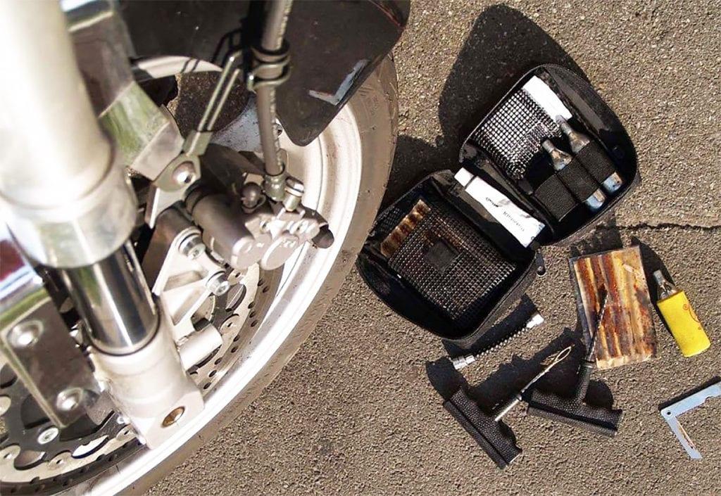 Ремкомплект для ремонта шин мотоцикла