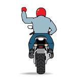 Знак поворот направо мотоцикл