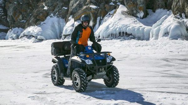 Эксплуатация квадроцикла зимой