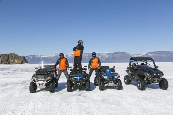 Зимняя экипировка для квадроцикла CFMOTO