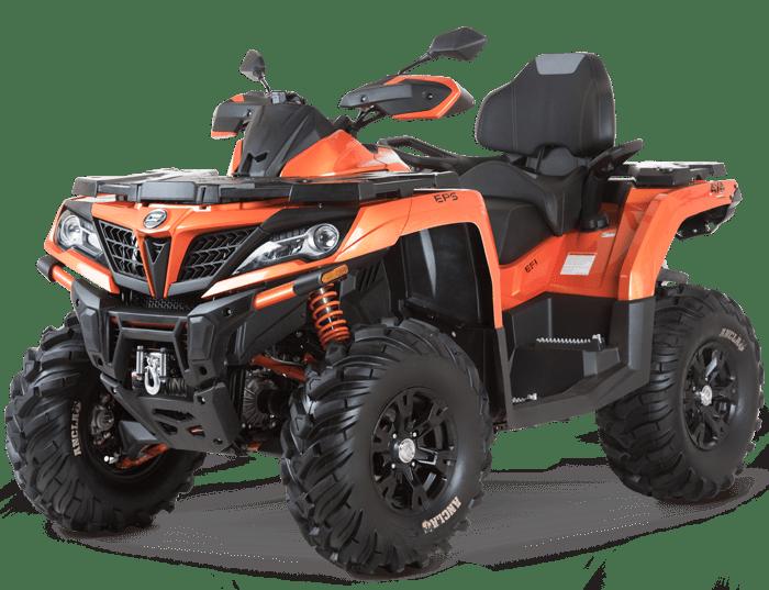 Квадроцикл CFMOTO X10 EPS оранжевый