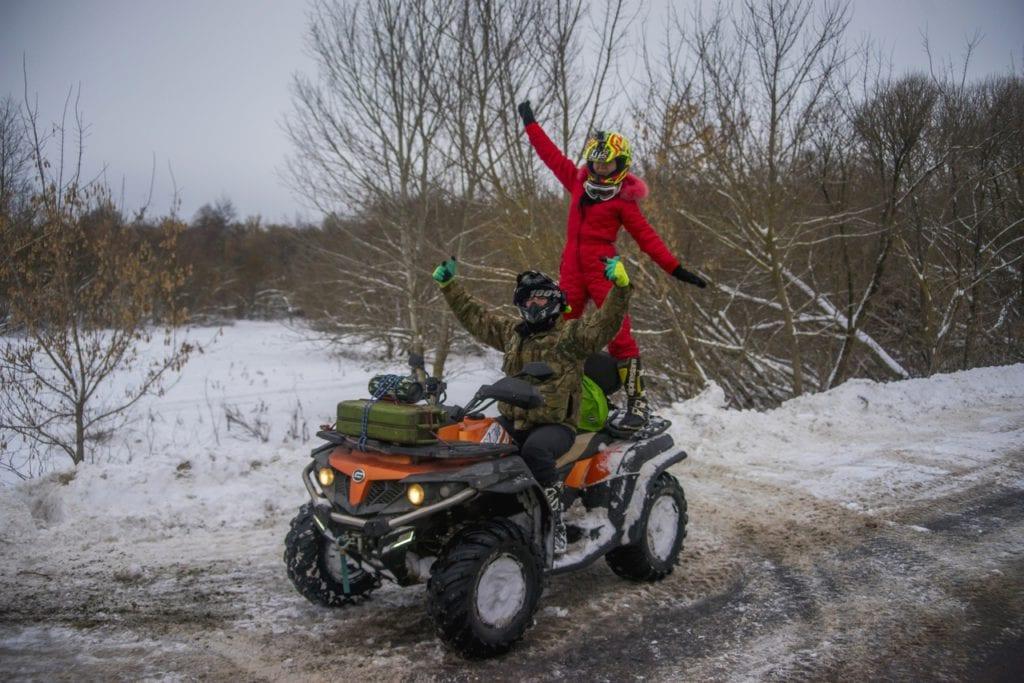 Курский квадропробег в преддверии Рождества!