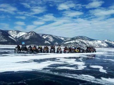 Борьба за звание самого быстрого квадроциклиста. Quadro Ice-2019 под Иркутском!