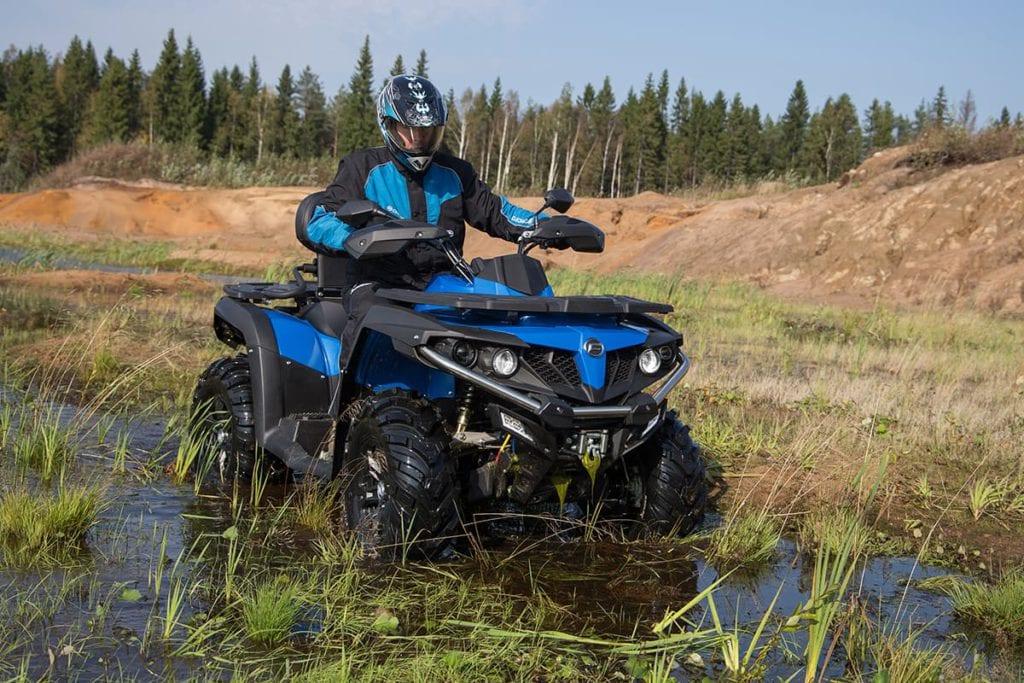 Квадроциклы CFMOTO с объемом двигателя 600 см³
