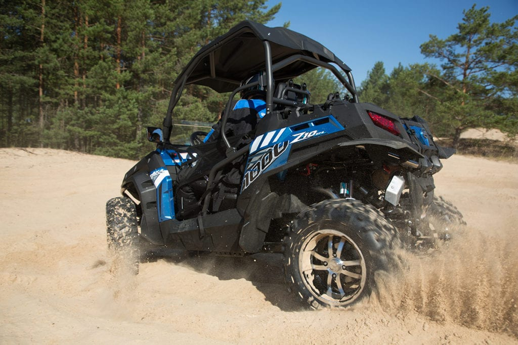 Квадроциклы CFMOTO с объемом двигателя 1000 см³