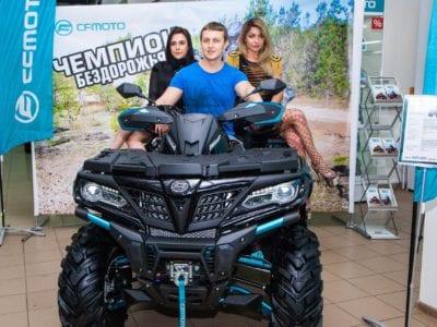 Открытие салона CFMOTO во Владимире