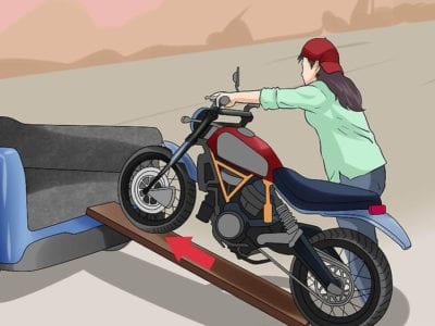 Как перевезти мотоцикл