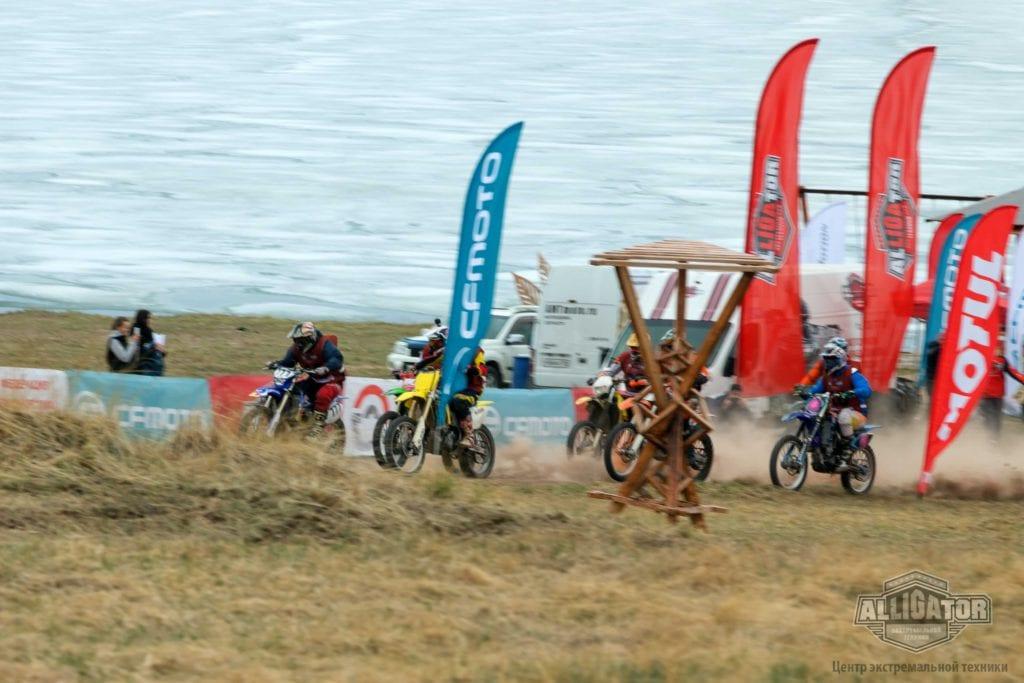 CFMOTO на«ENDURO CAMP 2019» на озере Беле