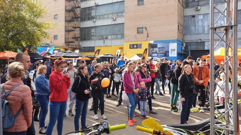 CFMOTO на Дне спорта в Москве