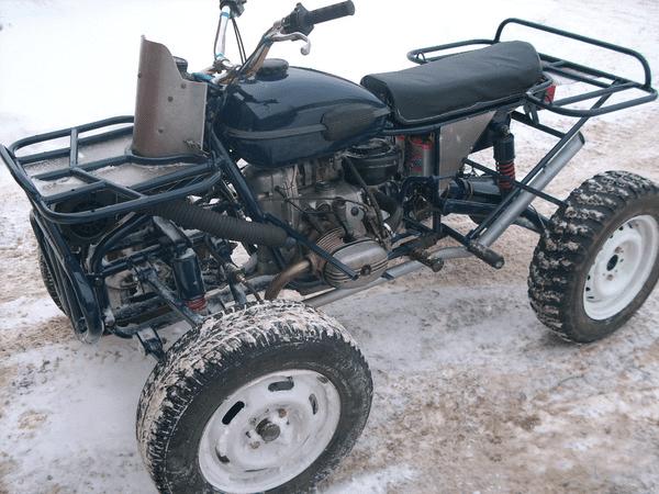 Самодельные квадроциклы: подробный гайд