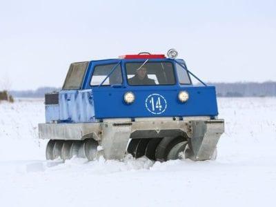 Снегоболотоходы: что это, цены и где купить?