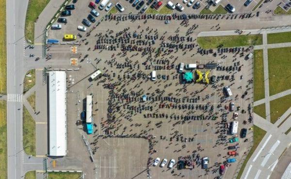 Открытие мотосезона в Красноярске