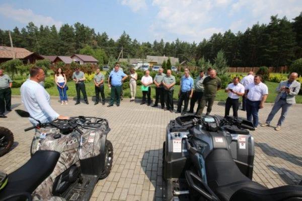 CFMOTO на семинаре по охотничьему туризму в Белоруссии