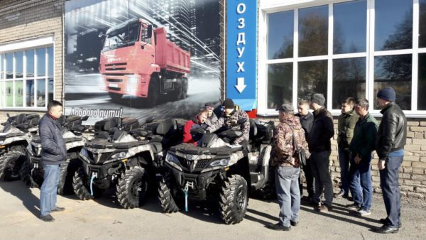 Пять CFORCE 800 HO EPS на службе у электросетей Кировской области